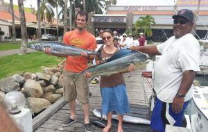 Cathed: Wahoo, Mahi Mahi and Tuna